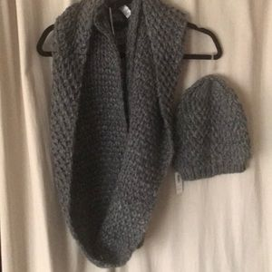 Old Navy Knit Beanie and Circle Infinity Scarf